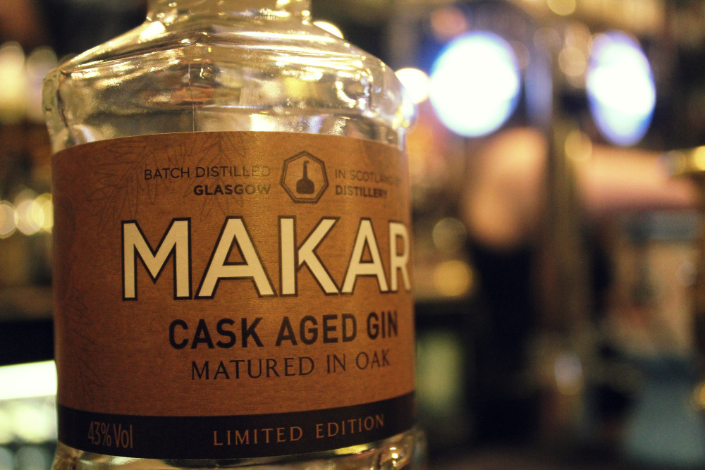 Makar Gin Scottish drinks