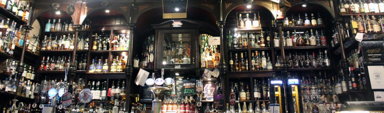 The Pot Still Whisky And Beer In Glasgow City Centre Pub
